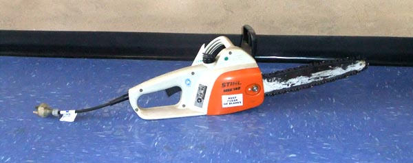 AMAC equipment hire - electric chain saws