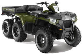 Polaris Sportsman 6x6 Big Boss 800 EFI ATV