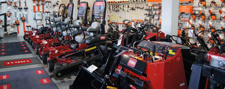 Power Equipment, Zero Turn Mowers, Utility Loaders, in stock at AMAC.