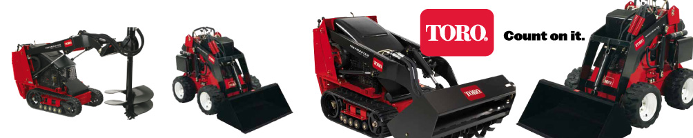 Mini Diggers - Toro sales & service by AMAC
