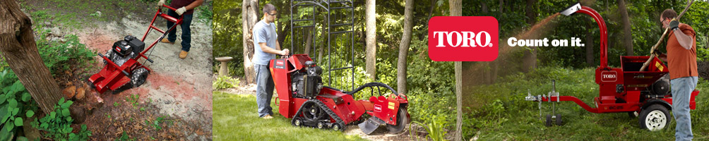 Toro Tree Care Equipment Range