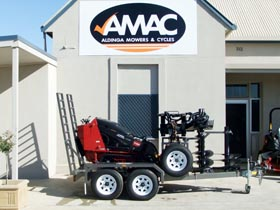 AMAC trailer deals on Toro Traxmaster & Wheelmaster mini diggers