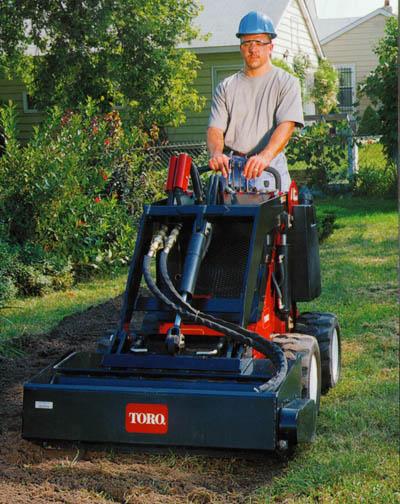 Mini Diggers - Toro Wheelmaster
