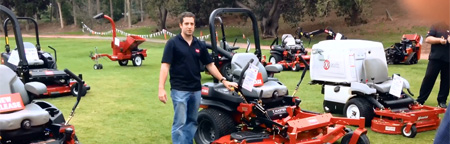 Patrick from TORO on the Z-Master