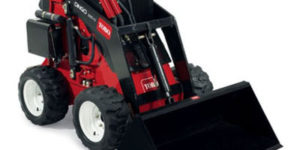Toro 320d wheeled mini digger