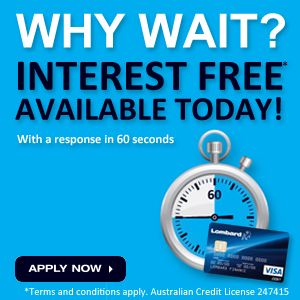 Why wait? Interest Free Available Today.