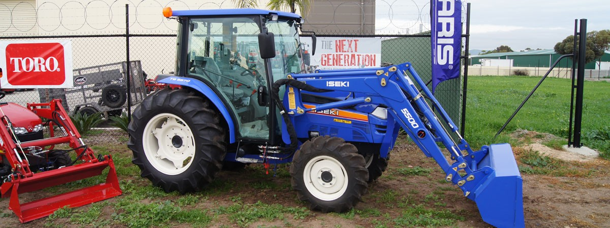 ISEKI TRACTORS NOW AVAILABLE AT AMAC