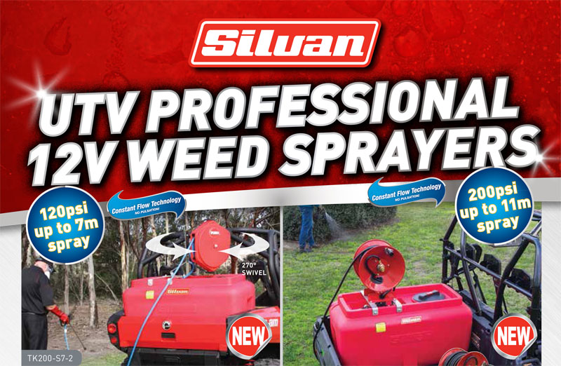 ATV Weed Sprayers