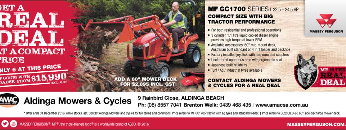 Massey MF GC1700 deal
