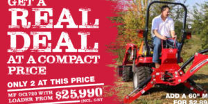 compact tractor deal