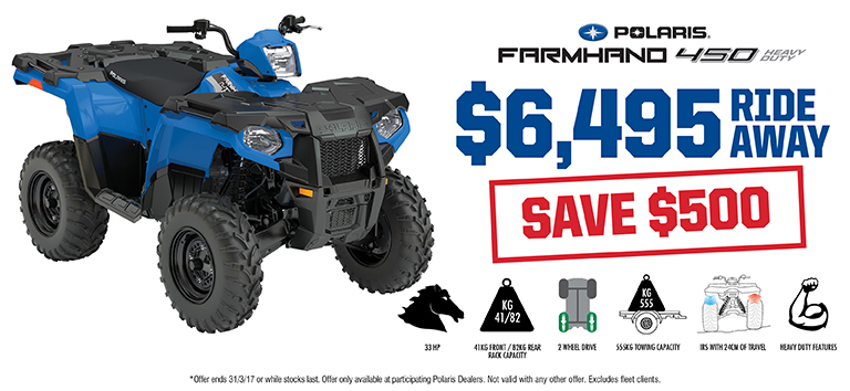 Farmhand 450 Save $500