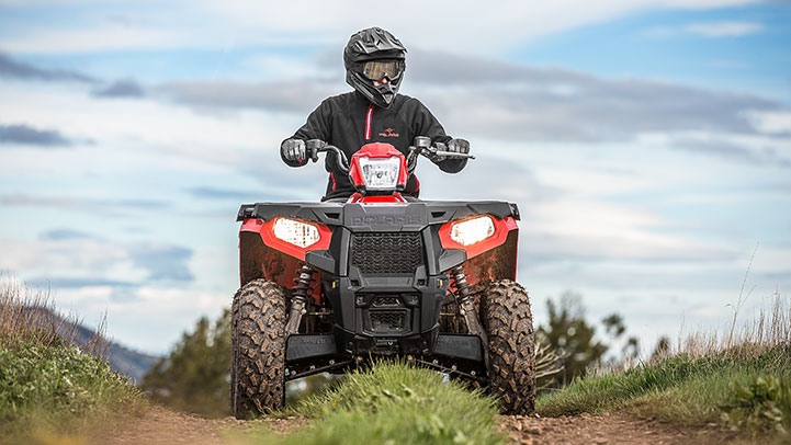 Polaris Sportsman 570 HD front