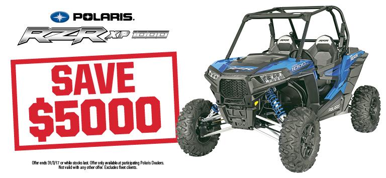 RZR XP 1000 Save $5000