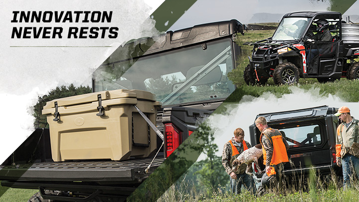 Full Line of Polaris Engineered Accessories™