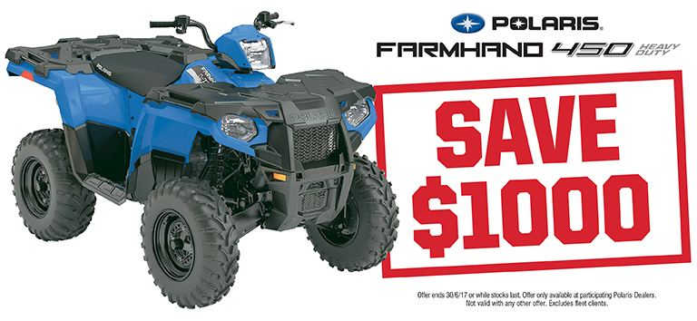 Farmhand 450 Save $1000