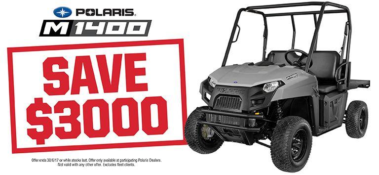 M1400 Save $3000