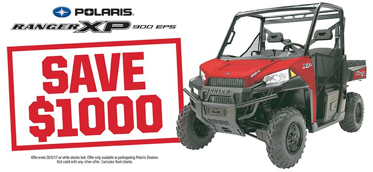 Ranger XP 900 EPS Save $1000
