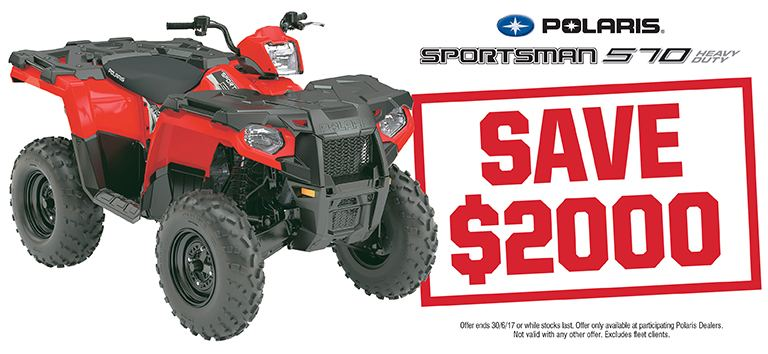 Sportsman 570 HD Save $2000