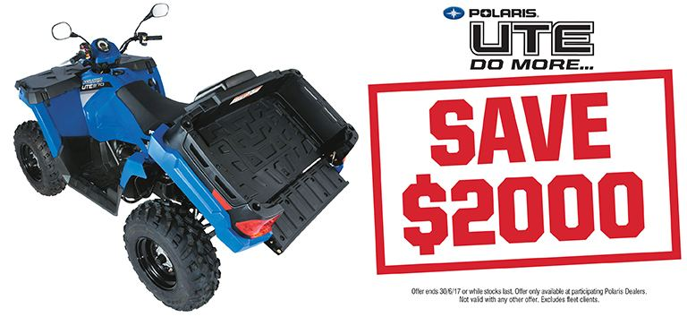 UTE 570 HD Save $2000