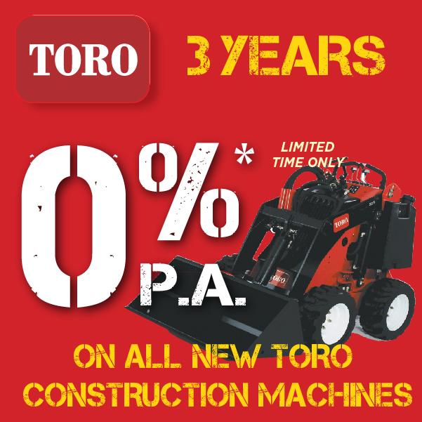Toro 0% Interest