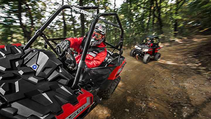 Single Seat Freedom. Absolute Adventure. That's what ACE® is all about. The single seat puts you directly in the center of the trail.Take control of your own experience and take control of your adventure with the ACE® 500.