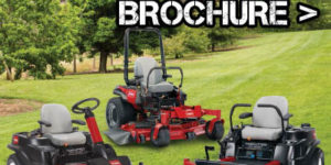 Toro Ride On Mowers Brochure