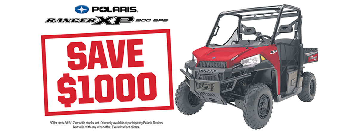 Ranger XP 900 EPS_Save $1000