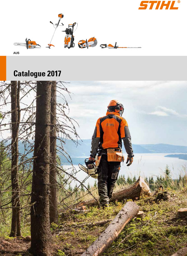 STIHL full product catalogue 2017