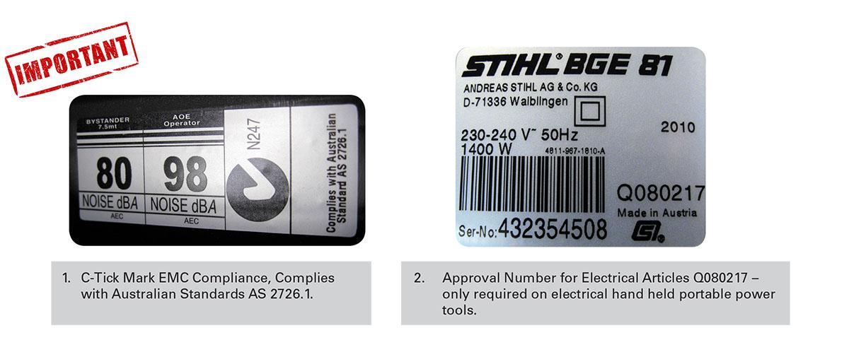 Caution Buying STIHL Online - AMAC SA