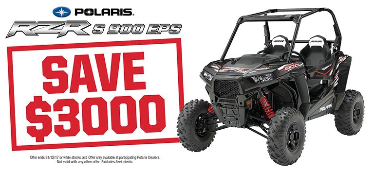 RZR S 900 EPS
