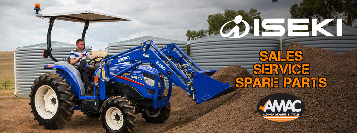 Iseki TG Series Tractors Available At AMAC