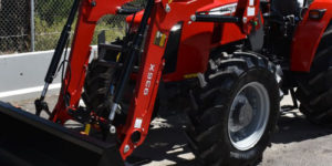 Massey-Ferguson-2600 series with front end loader