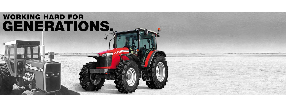 Massey Ferguson - Working Hard For Generations