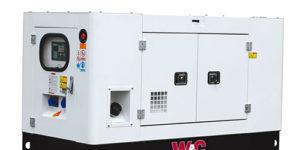 Kubota powered generator W&C