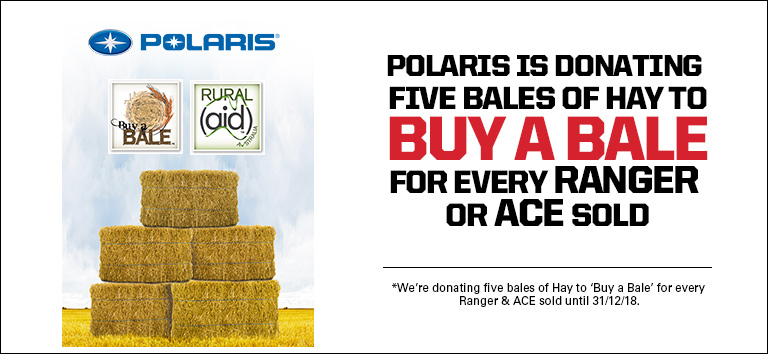 Polaris Buy A Bale Donations