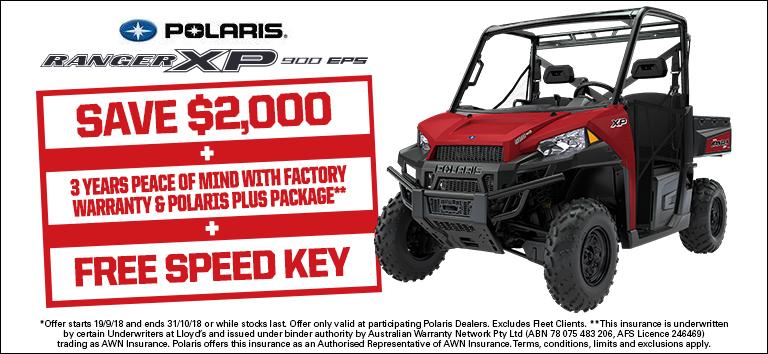 Polaris Ranger XP 900 EPS triple deal