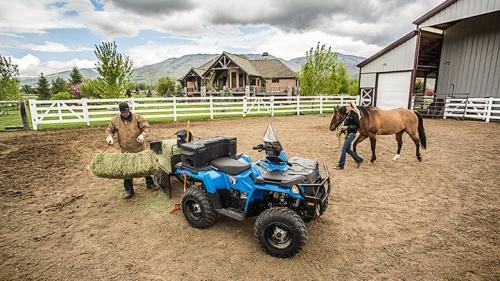 Polaris Farm Hand 450 HD hay